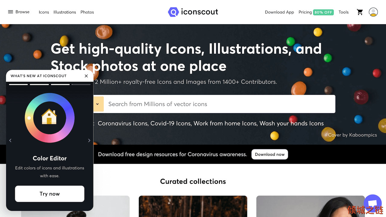Iconscout: Free Download Icons, Illustrations & Stock Photos 倾城之链