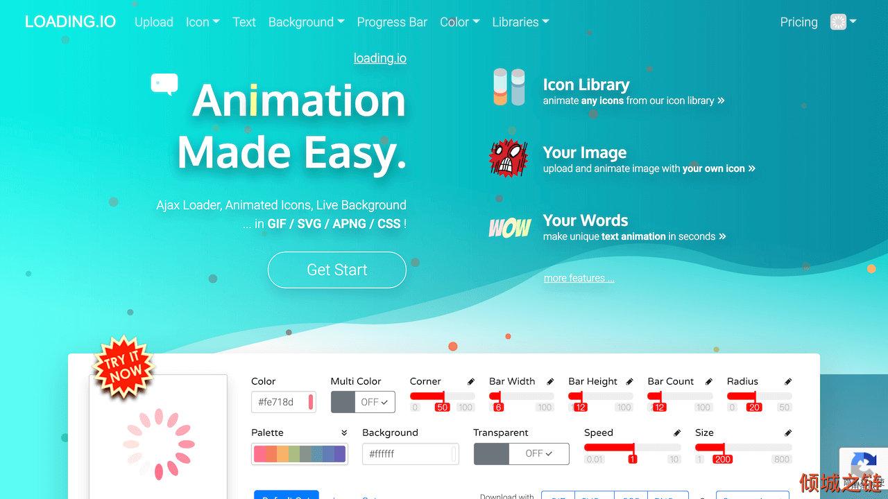 倾城之链 - loading.io - Your SVG + GIF + PNG Ajax Loading Icons and Animation Generator