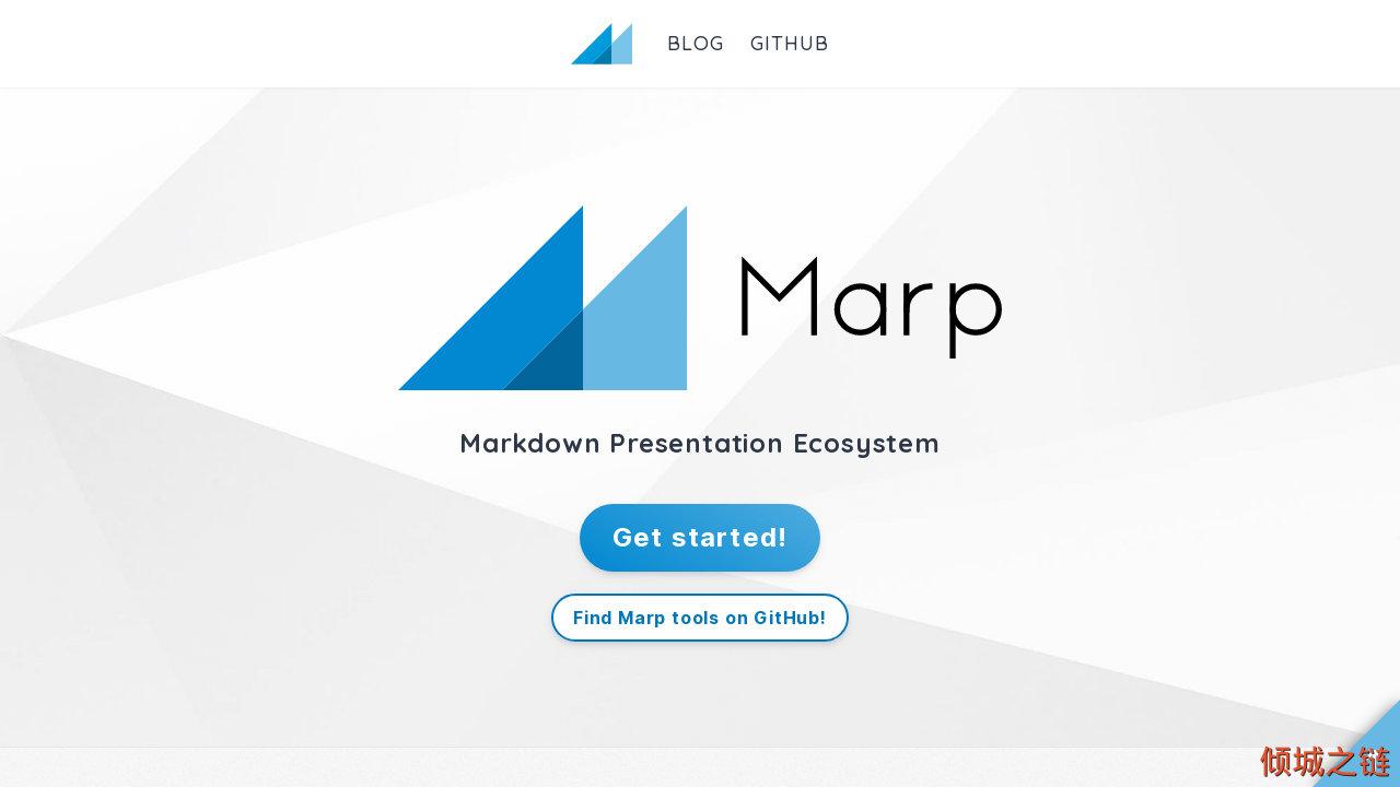 倾城之链 - Marp: Markdown Presentation Ecosystem