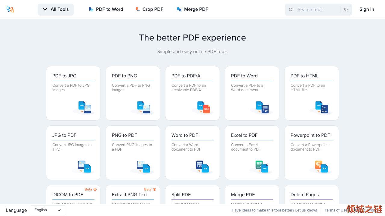 倾城之链 - PDF Online - Free PDF Tools to Merge, Convert & Edit PDFs