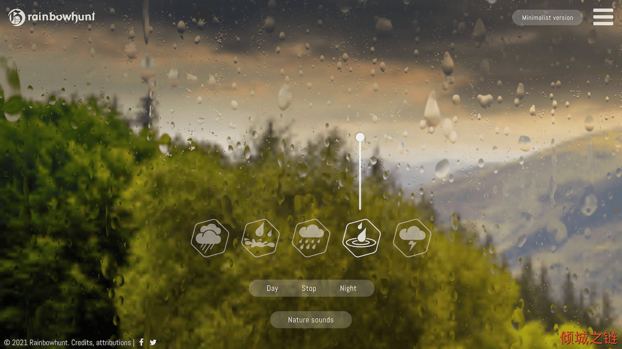 倾城之链 - Rainbow Hunt | Ultimate rain generator for relaxing or working