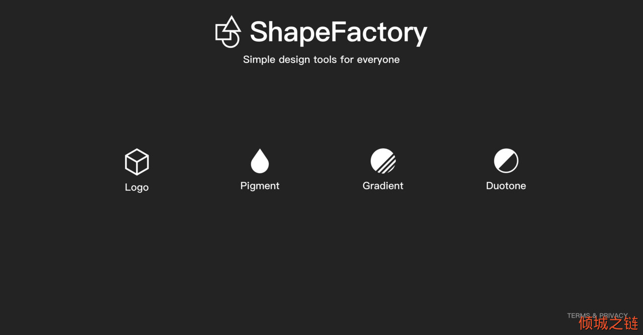 ShapeFactory | Simple tools to enrich creativity 倾城之链