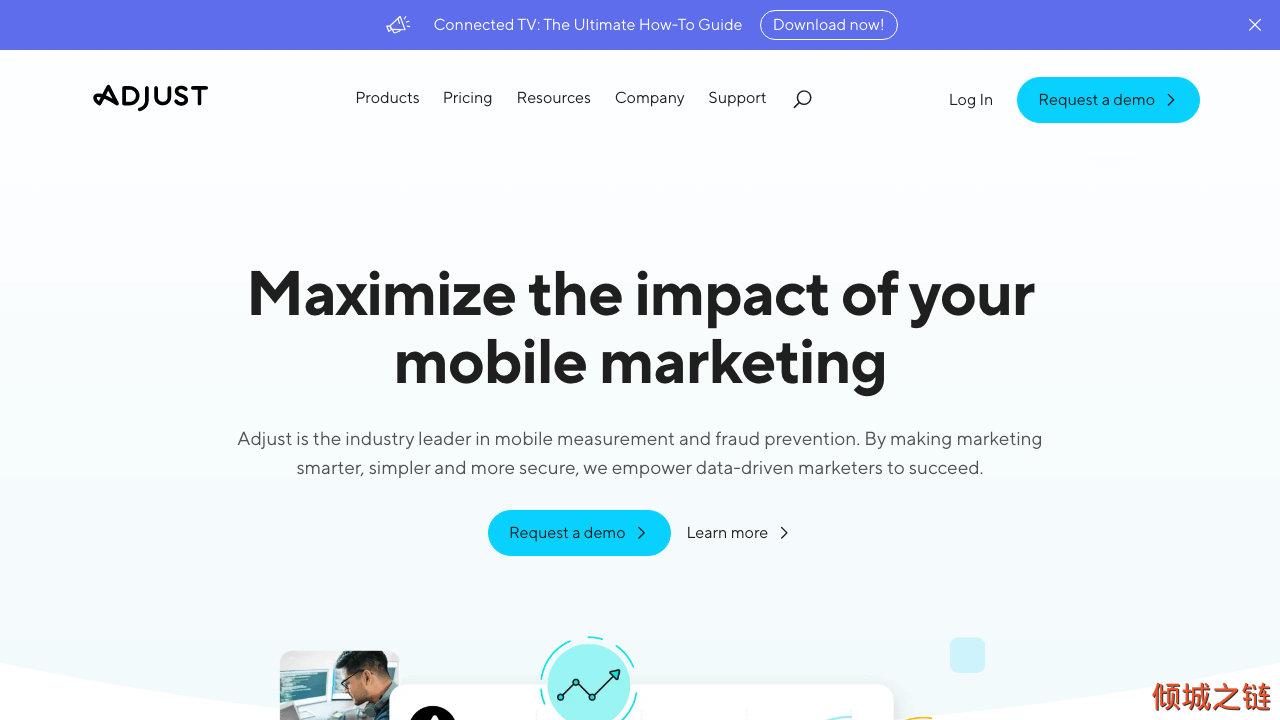 倾城之链 -  The mobile measurement company | Adjust